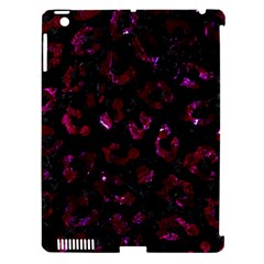 Skin5 Black Marble & Burgundy Marble (r) Apple Ipad 3/4 Hardshell Case (compatible With Smart Cover) by trendistuff