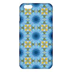 Blue Nice Daisy Flower Ang Yellow Squares Iphone 6 Plus/6s Plus Tpu Case by MaryIllustrations