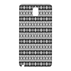 Fancy Tribal Border Pattern 17b Samsung Galaxy Note 3 N9005 Hardshell Back Case by MoreColorsinLife