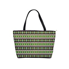 Fancy Tribal Border Pattern 17a Shoulder Handbags by MoreColorsinLife