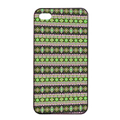 Fancy Tribal Border Pattern 17a Apple Iphone 4/4s Seamless Case (black) by MoreColorsinLife