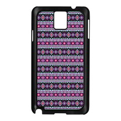 Fancy Tribal Border Pattern 17c Samsung Galaxy Note 3 N9005 Case (black) by MoreColorsinLife