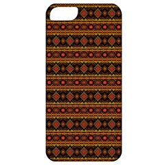 Fancy Tribal Border Pattern 17e Apple Iphone 5 Classic Hardshell Case by MoreColorsinLife