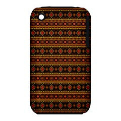 Fancy Tribal Border Pattern 17e Iphone 3s/3gs by MoreColorsinLife