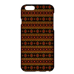Fancy Tribal Border Pattern 17e Apple Iphone 6 Plus/6s Plus Hardshell Case by MoreColorsinLife