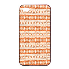 Fancy Tribal Border Pattern 17i Apple Iphone 4/4s Seamless Case (black) by MoreColorsinLife
