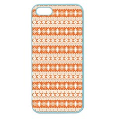 Fancy Tribal Border Pattern 17i Apple Seamless Iphone 5 Case (color) by MoreColorsinLife