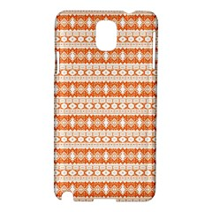 Fancy Tribal Border Pattern 17i Samsung Galaxy Note 3 N9005 Hardshell Case by MoreColorsinLife