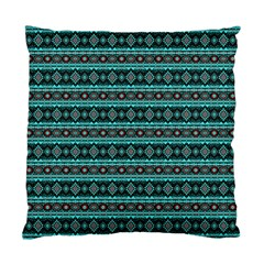 Fancy Tribal Border Pattern 17g Standard Cushion Case (one Side) by MoreColorsinLife