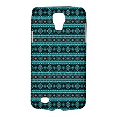 Fancy Tribal Border Pattern 17g Galaxy S4 Active by MoreColorsinLife