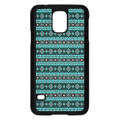 Fancy Tribal Border Pattern 17g Samsung Galaxy S5 Case (black) by MoreColorsinLife