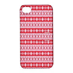 Fancy Tribal Border Pattern 17h Apple Iphone 4/4s Hardshell Case With Stand by MoreColorsinLife