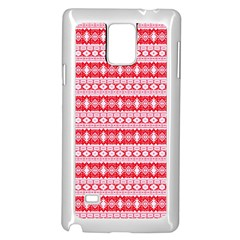 Fancy Tribal Border Pattern 17h Samsung Galaxy Note 4 Case (white) by MoreColorsinLife