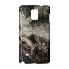 Pattern Romantic Couple  Samsung Galaxy Note 4 Hardshell Case by MaryIllustrations