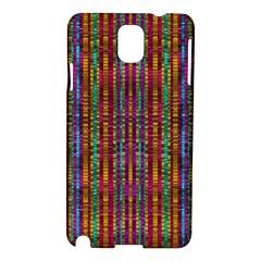 Star Fall In  Retro Peacock Colors Samsung Galaxy Note 3 N9005 Hardshell Case by pepitasart