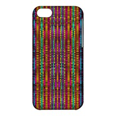 Star Fall In  Retro Peacock Colors Apple Iphone 5c Hardshell Case by pepitasart