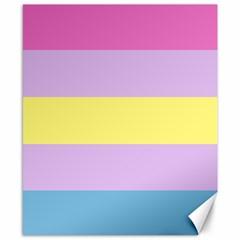 Apo Stripes Canvas 8  X 10  by AllOverIt