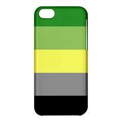 Aro Stripes Apple Iphone 5c Hardshell Case by AllOverIt