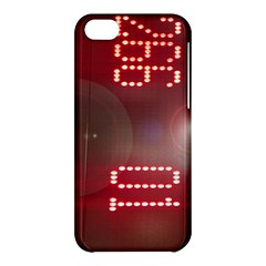 Numbers Game Apple Iphone 5c Hardshell Case by norastpatrick