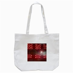 Numbers Game Tote Bag (white) by norastpatrick