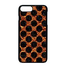 Circles2 Black Marble & Copper Foil (r) Apple Iphone 7 Plus Seamless Case (black) by trendistuff