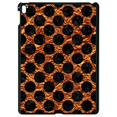 Circles2 Black Marble & Copper Foil (r) Apple Ipad Pro 9 7   Black Seamless Case by trendistuff