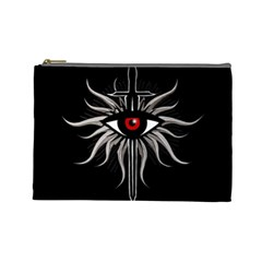 Inquisition Symbol Cosmetic Bag (large)  by Valentinaart