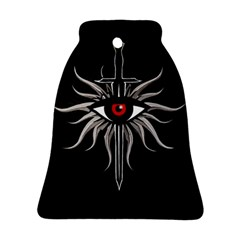 Inquisition Symbol Bell Ornament (two Sides) by Valentinaart