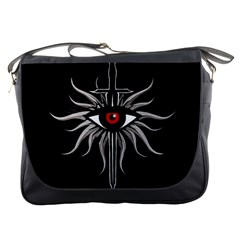 Inquisition Symbol Messenger Bags by Valentinaart