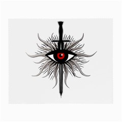 Inquisition Symbol Small Glasses Cloth by Valentinaart