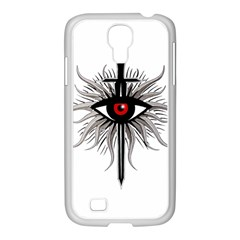 Inquisition Symbol Samsung Galaxy S4 I9500/ I9505 Case (white) by Valentinaart