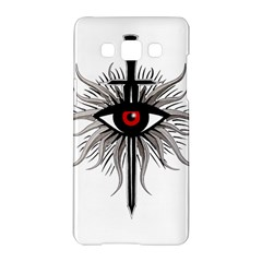 Inquisition Symbol Samsung Galaxy A5 Hardshell Case  by Valentinaart
