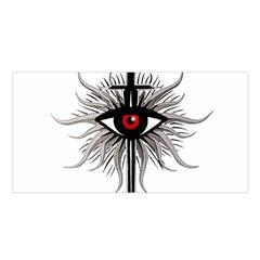 Inquisition Symbol Satin Shawl by Valentinaart