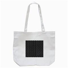 Fish Bones Pattern Tote Bag (white) by Valentinaart