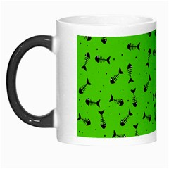 Fish Bones Pattern Morph Mugs by ValentinaDesign