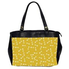 Fish Bones Pattern Office Handbags (2 Sides)  by ValentinaDesign