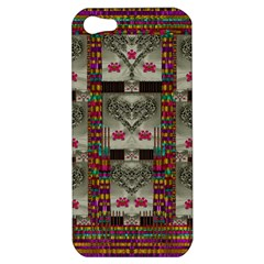 Wings Of Love In Peace And Freedom Apple Iphone 5 Hardshell Case by pepitasart