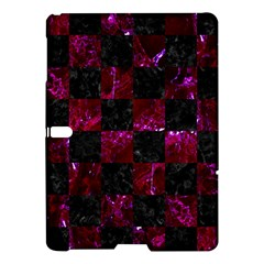 Square1 Black Marble & Burgundy Marble Samsung Galaxy Tab S (10 5 ) Hardshell Case  by trendistuff