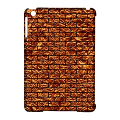 Brick1 Black Marble & Copper Foil (r) Apple Ipad Mini Hardshell Case (compatible With Smart Cover) by trendistuff