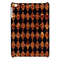 Diamond1 Black Marble & Copper Foilcopper Foil Apple Ipad Mini Hardshell Case by trendistuff