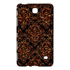 Damask1 Black Marble & Copper Foil Samsung Galaxy Tab 4 (7 ) Hardshell Case  by trendistuff