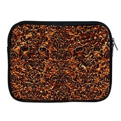 Damask2 Black Marble & Copper Foil (r)2 Black Marble & Copper Foil (r) Apple Ipad 2/3/4 Zipper Cases by trendistuff