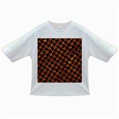 Houndstooth2 Black Marble & Copper Foil Infant/toddler T Shirts by trendistuff