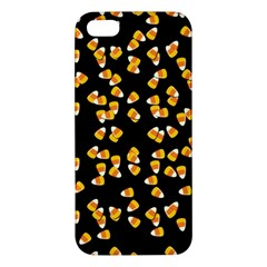 Candy Corn Apple Iphone 5 Premium Hardshell Case by Valentinaart