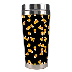 Candy Corn Stainless Steel Travel Tumblers by Valentinaart