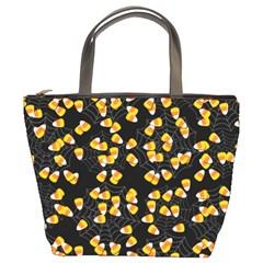 Candy Corn Bucket Bags by Valentinaart