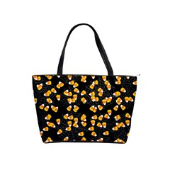 Candy Corn Shoulder Handbags by Valentinaart