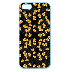 Candy Corn Apple Seamless Iphone 5 Case (color) by Valentinaart