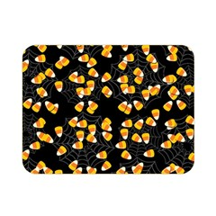 Candy Corn Double Sided Flano Blanket (mini)  by Valentinaart