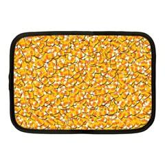 Candy Corn Netbook Case (medium)  by Valentinaart